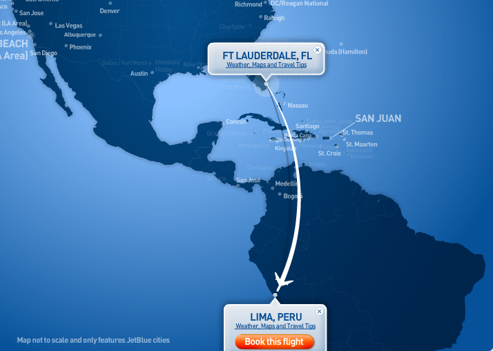Traveling On The Cheap In Peru Book Jetblue S New Route
