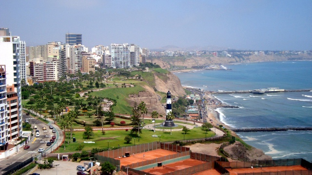 Lima Aerial View